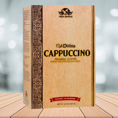 cafe capuchino vida divina