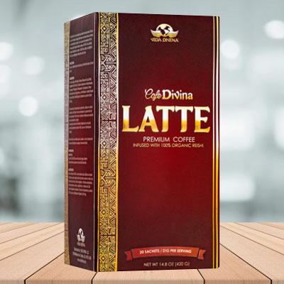 cafe latte vida divina